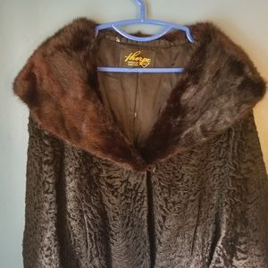 Thorpe vintage 1920 mink and lamb jacket